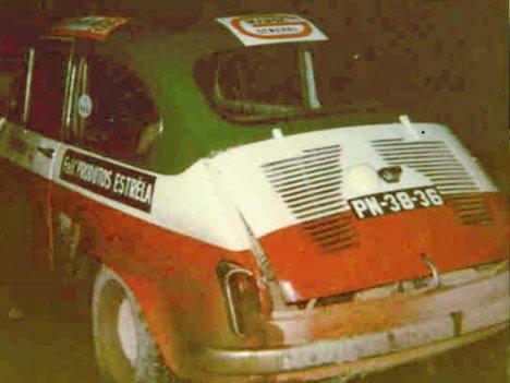 No Rally do Académico, onde conseguiu o segundo melhor tempo