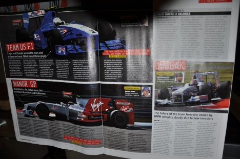 Autosport UK - Virgin news